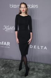 Leelee Sobieski - 2018 amfAR Gala at Cipriani Wall Street in New York City 2/7/18