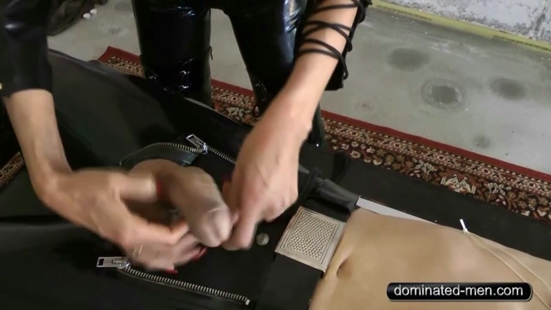 Mistress Zita starring in video (Art of Domination Part1) of (Dominated Men) studio [HD 720P]