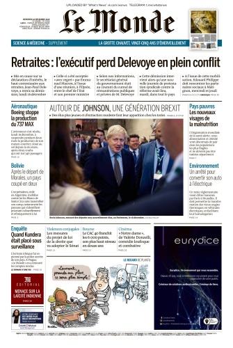 Le Monde - 18 12 (2019)