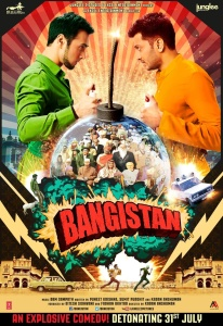 Bangistan (2015) Hindi - 720p WEB-HD - x264 - AAC 5 1 - ESubs - Sun George-DrC