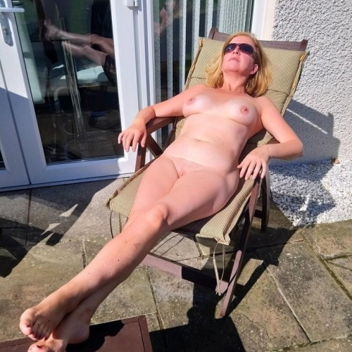 Beauty nude mature