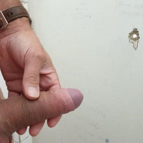 Porn public toilet