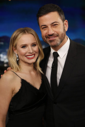 Kristen Bell - Jimmy Kimmel Live: January 16th 2018