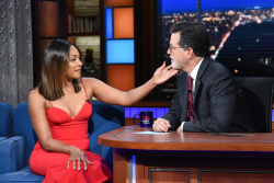 Tiffany Haddish - The Late Show with Stephen Colbert: September 20th 2018