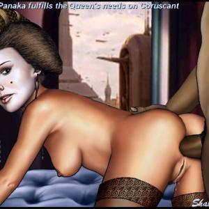 hvězdné války kreslený porno