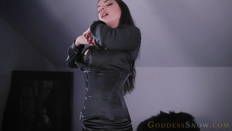 Goddess Alexandra Snow starring in video (Satin Weakness) - Watch XXX Online [FullHD 1080P]