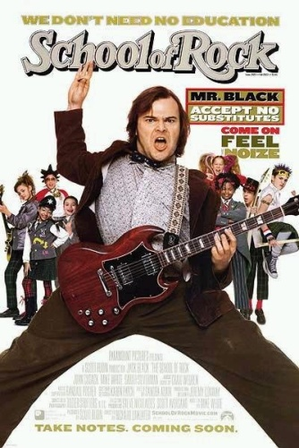 The School of Rock (2003) 720p BluRay x264 [Dual Audio][Hindi+English] KMHD