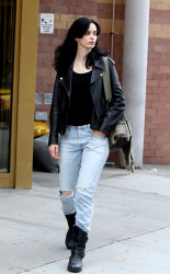 Krysten Ritter - On the set of 'Jessica Jones' in NYC 08/28/2018