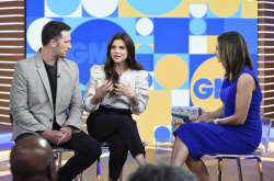 Tiffani Thiessen - Good Morning America: April 29th 2019