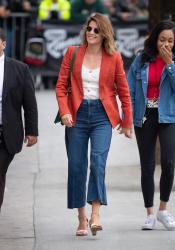 Cobie Smulders - Arriving at Jimmy Kimmel Live! in Los Angeles 05/09/19