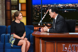 Katy Tur - The Late Show with Stephen Colbert: December 12th 2017