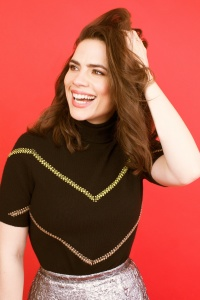 Hayley Atwell -                   Bustle Magazine April (2018).
