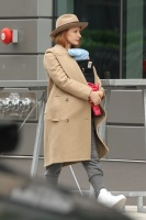 Jessica Chastain - out and about in Boston 11/1/18