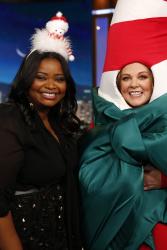 Octavia Spencer - Jimmy Kimmel Live: December 7th 2017
