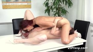 VIPissy 20 06 16 Antonia Sainz And Paula Shy Redheads Share Streams XXX 1080p MP4-KTR[]
