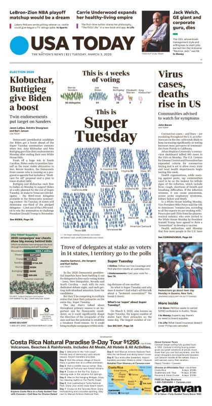 USA Today - 03 03 (2020)