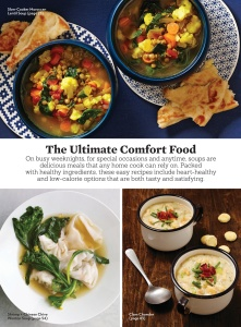 Eating Well Soups  October (2019)