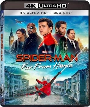 Spider-Man: Far from Home (2019) Full Blu-Ray 4K 2160p UHD HDR 10Bits HEVC ITA DTS-HD MA 5.1 ENG Atmos/TrueHD 7.1 MULTI