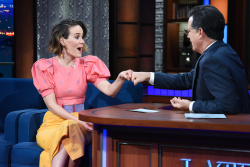 Sarah Paulson - The Late Show with Stephen Colbert: December 7th 2017