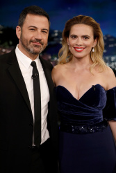 Hayley Atwell - Jimmy Kimmel Live: July 30th 2018