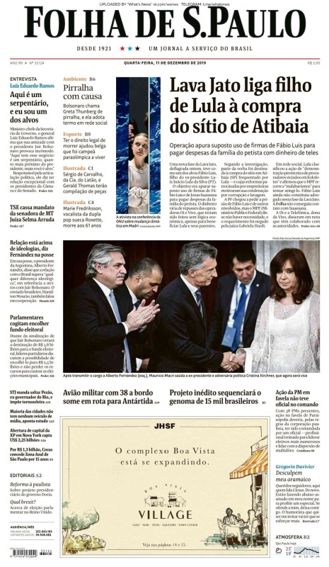 Folha de S 227 o Paulo - 11 12 (2019)