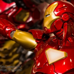 Avengers : Age of Ultron - HulkBuster Premium Collective 1/4 Statue (Hot Toys) DQ53GR64_t