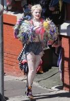 "Margot Robbie -                  ""Birds Of Prey"" Set Los Angeles April 9th 2019."