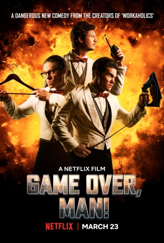 Game Over Man 2018 WEBRip XviD MP3-XVID