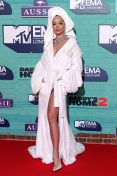 Rita Ora at the 24th Annual MTV Europe Music Awards in London - 11/12/17