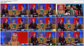 GRETCHEN CARLSON *cleavage, legs* - Aug 20, 2012