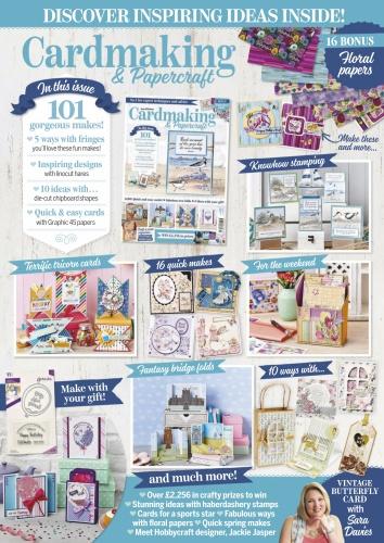 Cardmaking & Papercraft - April (2020)