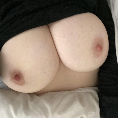 Very skinny with huge tits