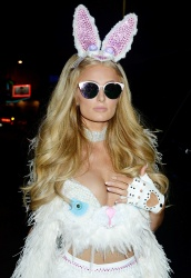 Paris Hilton - Treats! Magazine 7th Halloween Party in Los Angeles 10/31/17