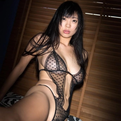 Young asian breasts