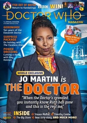 Doctor Who Magazine - Issue 549 - April (2020)