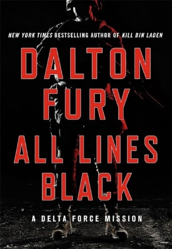 Dalton Fury   [Delta Force 06]   All Lines Black