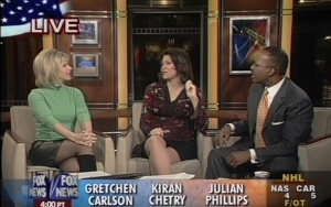 Kiran Chetry and Gretchen Carlson Classic Pictures