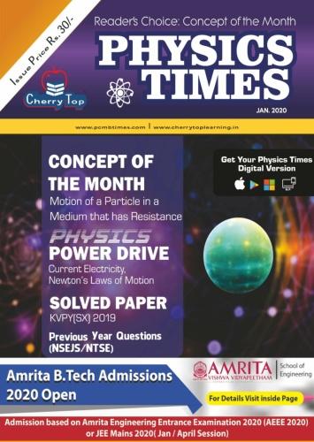 Physics Times - January (2020)