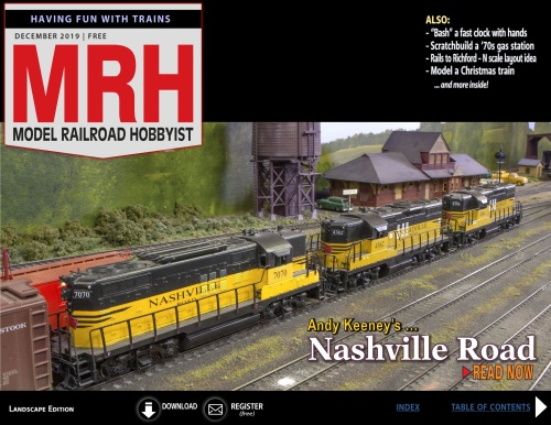 Model Railroad Hobbyist - December (2019)