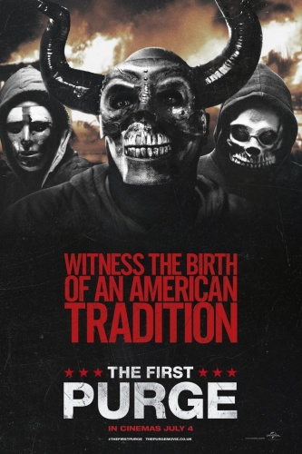 The First Purge (2018) 1080p BluRay 264 DD5 1 {Dual Audio}{Hindi+English} - Hammer