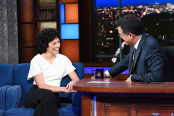Tatiana Maslany - The Late Show with Stephen Colbert: July 24th 2018