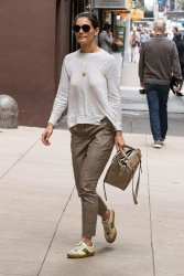 Katie Holmes - Heading to a business meeting in NYC 09/14/2018