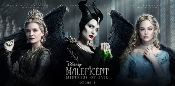 Elle Fanning -              Maleficent: Mistress of Evil (2019) Preview Poster.