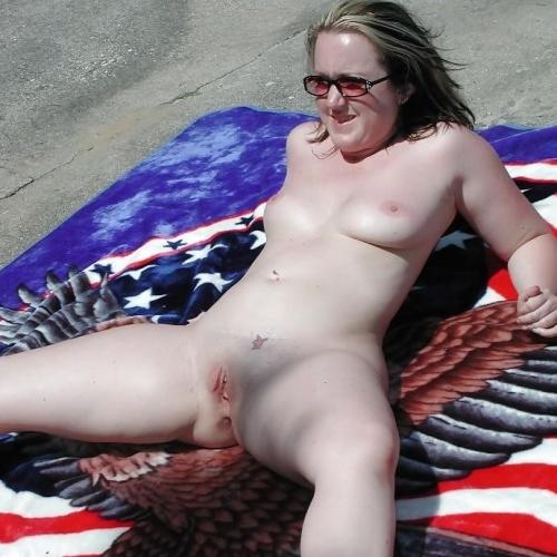 Nude amateur outdoor