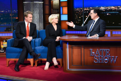 Mika Brzezinski - The Late Show with Stephen Colbert: October 18th 2018