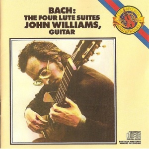 John Williams Plays Bach   The Four Lute Suites on Guitar