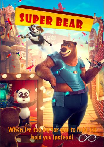 Super Bear 2019 HDRip XviD AC3-EVO