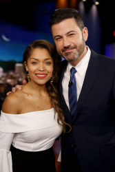 Antonia Thomas - Jimmy Kimmel Live: January 22nd 2018