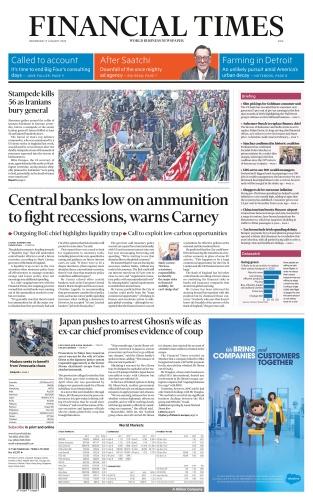 Financial Times Asia - Jan 8 (2020)