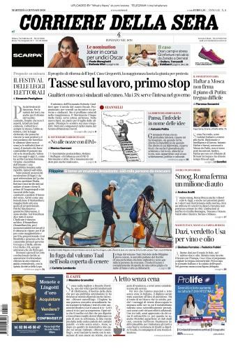 Corriere della Sera - 14 01 (2020)